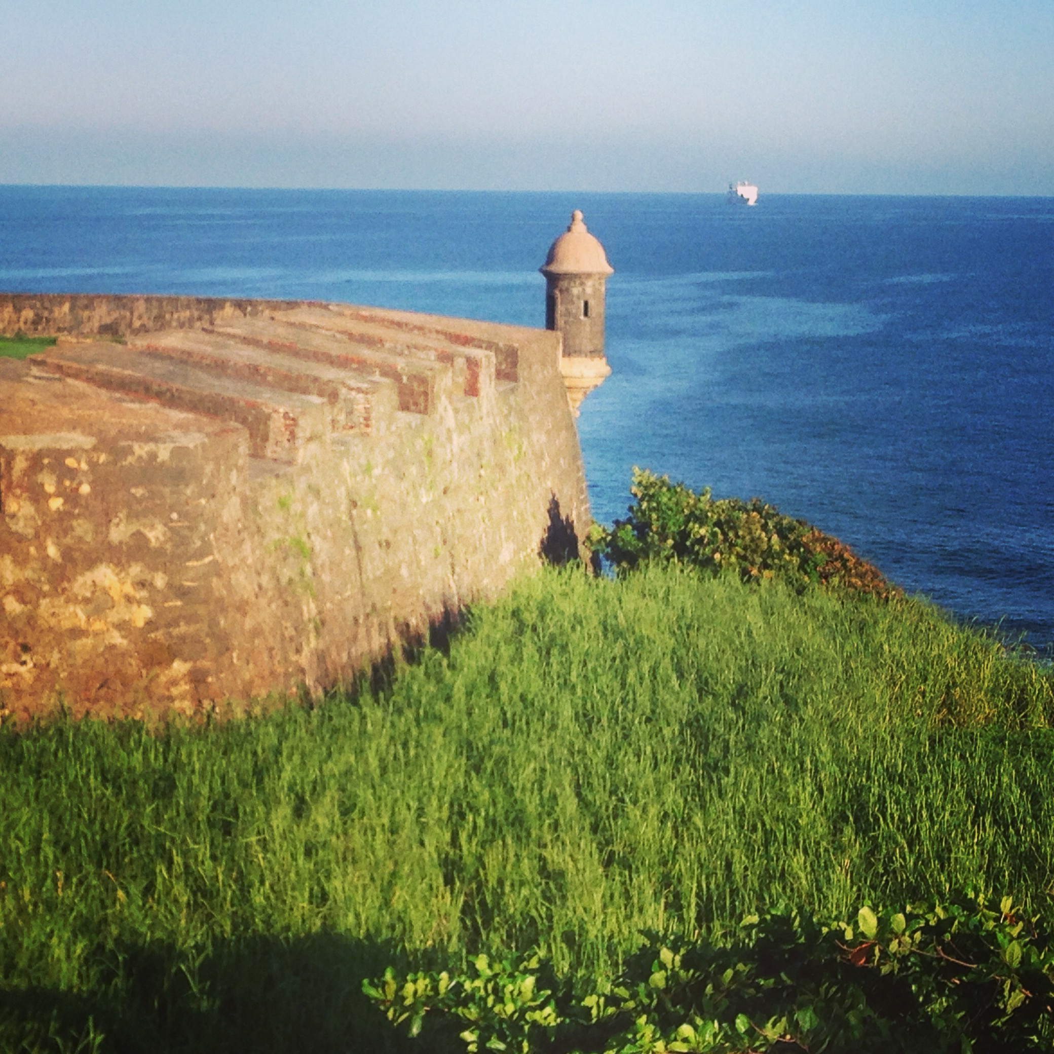 San Juan Fort Sea @GregWasThere